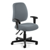 Posture Task Chair with Arms, Gray